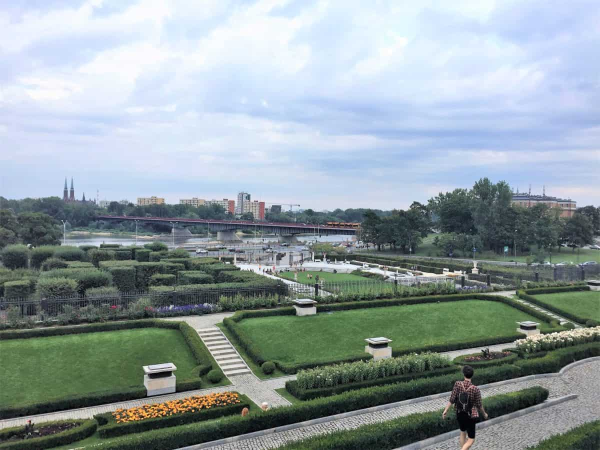What to do in Warsaw: The Gardens of the Royal Castle