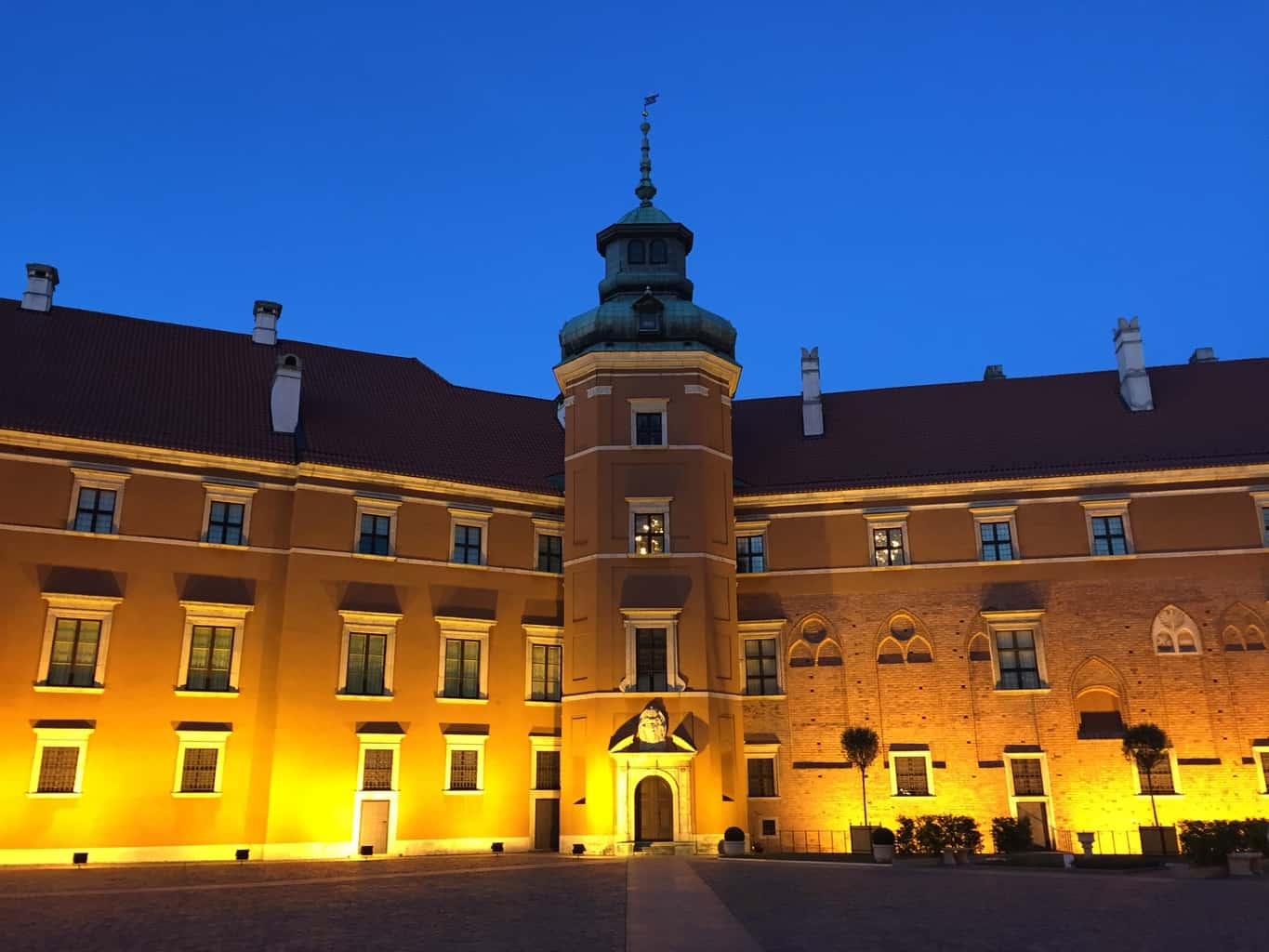 The Royal Castle in Warsaw