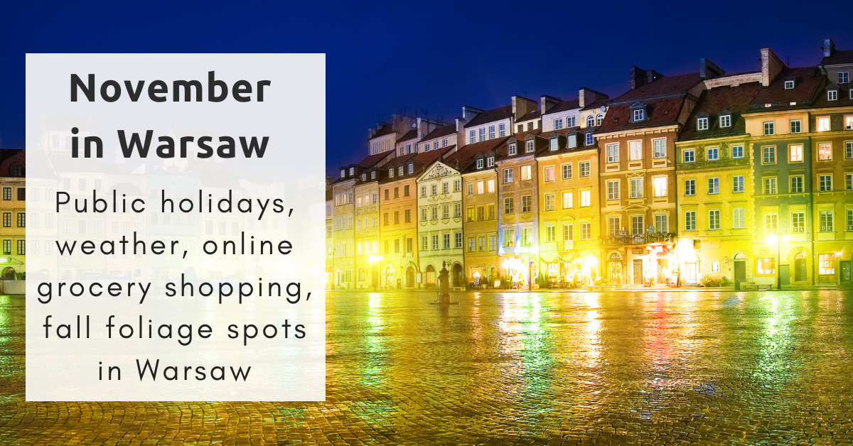 Warsaw in November