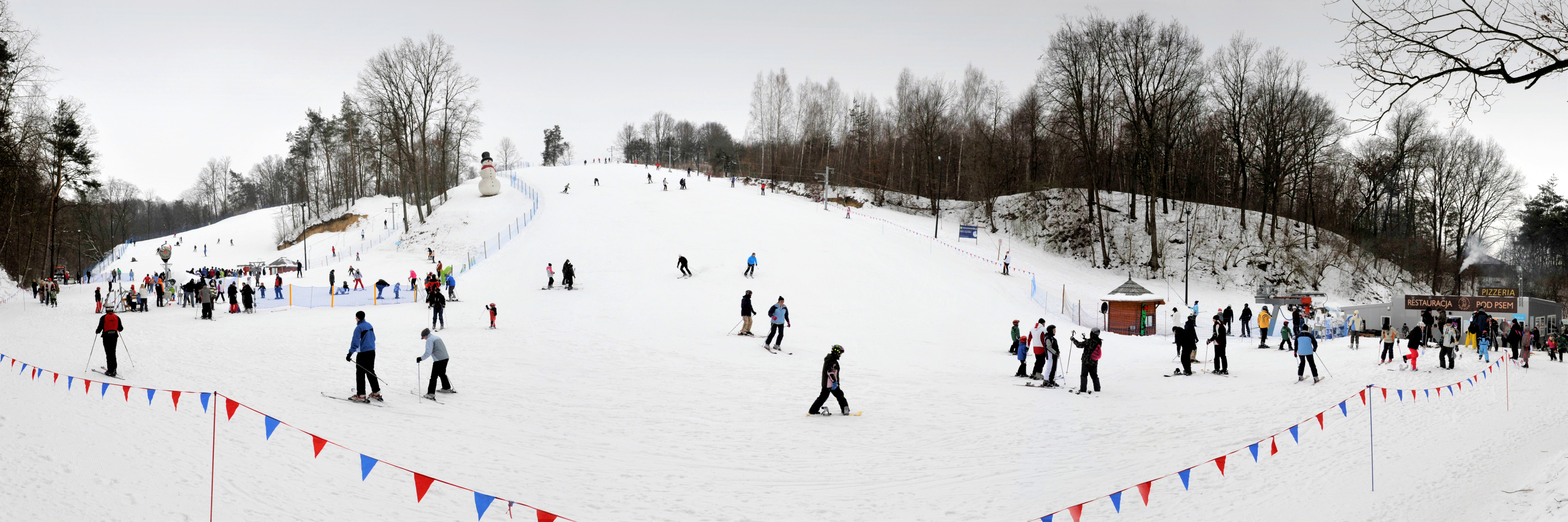 Skiing in Poland Kazimierz Dolny
