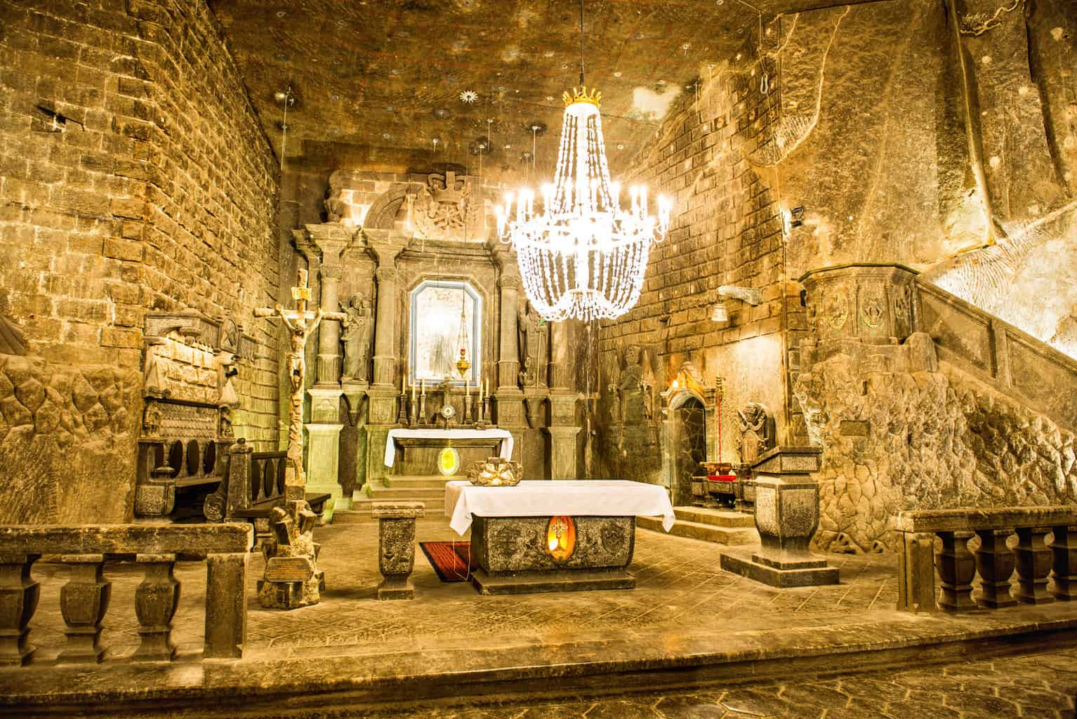 Poland salt mine