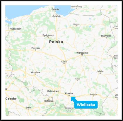 Wieliczka Salt Mine in Poland near Krakow