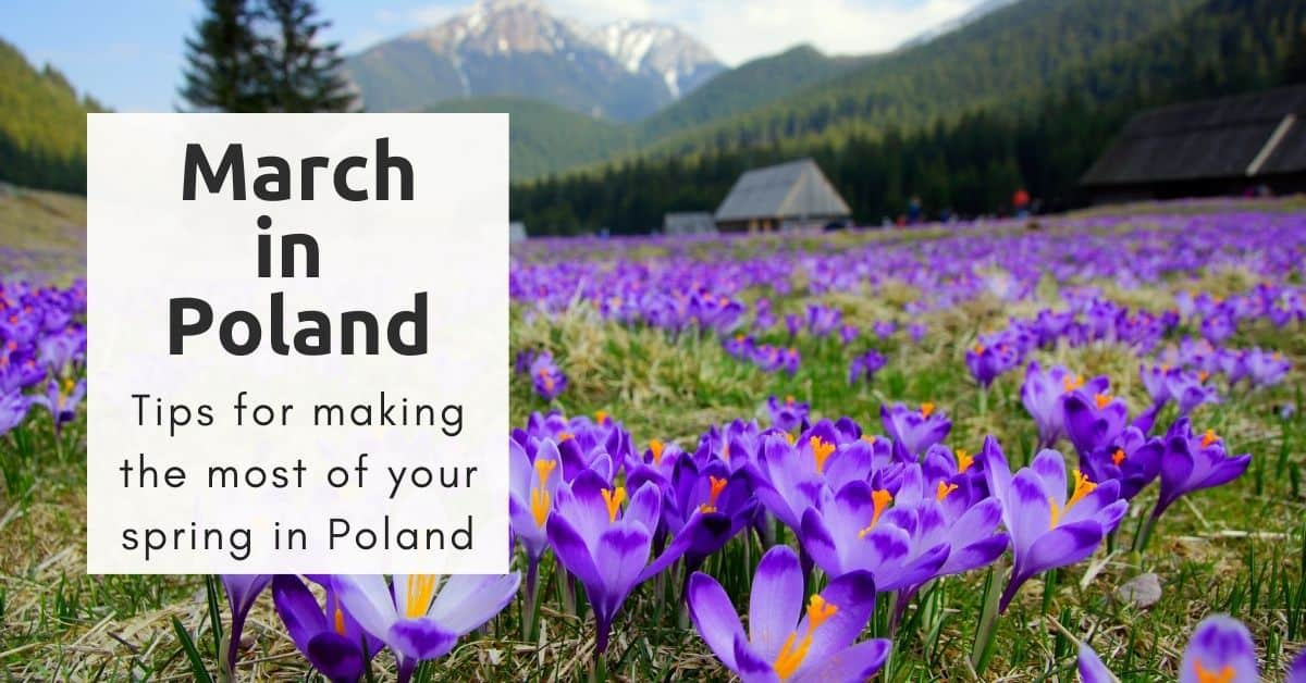 Poland in March