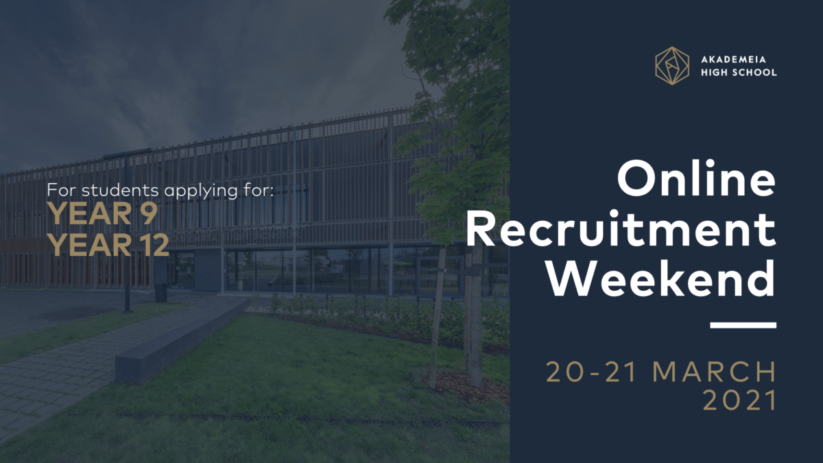 Online Recruitment Weekend