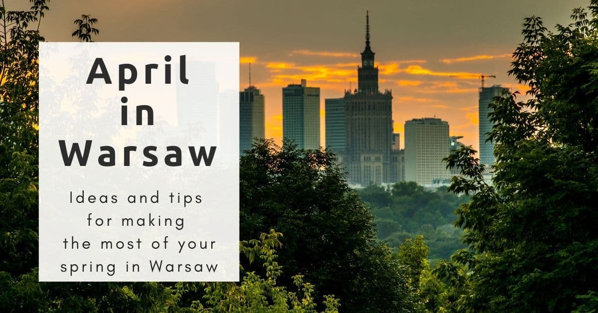 April in Warsaw
