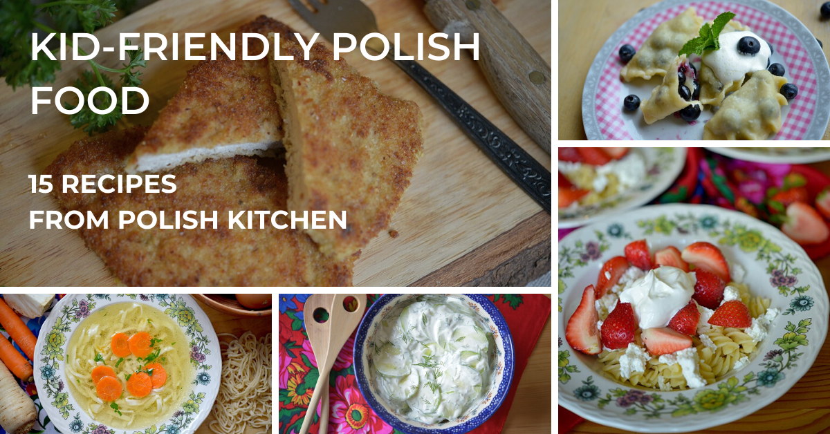 kid fierndly polish food