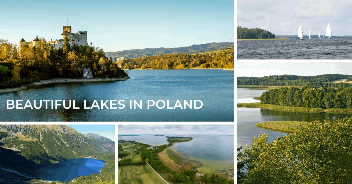 Lakes in Poland