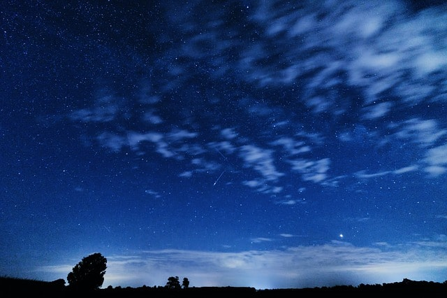 The Perseid meteor shower - nights of shooting stars in Poland