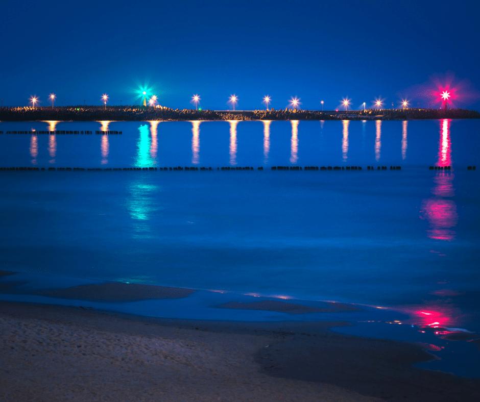 Poland, beside the Baltic Sea, lies the town of Kołobrzeg
