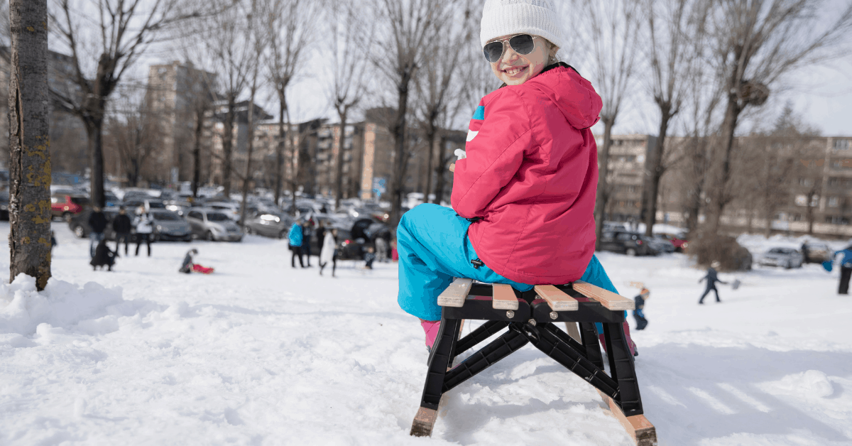 where to go sledding in Warsaw