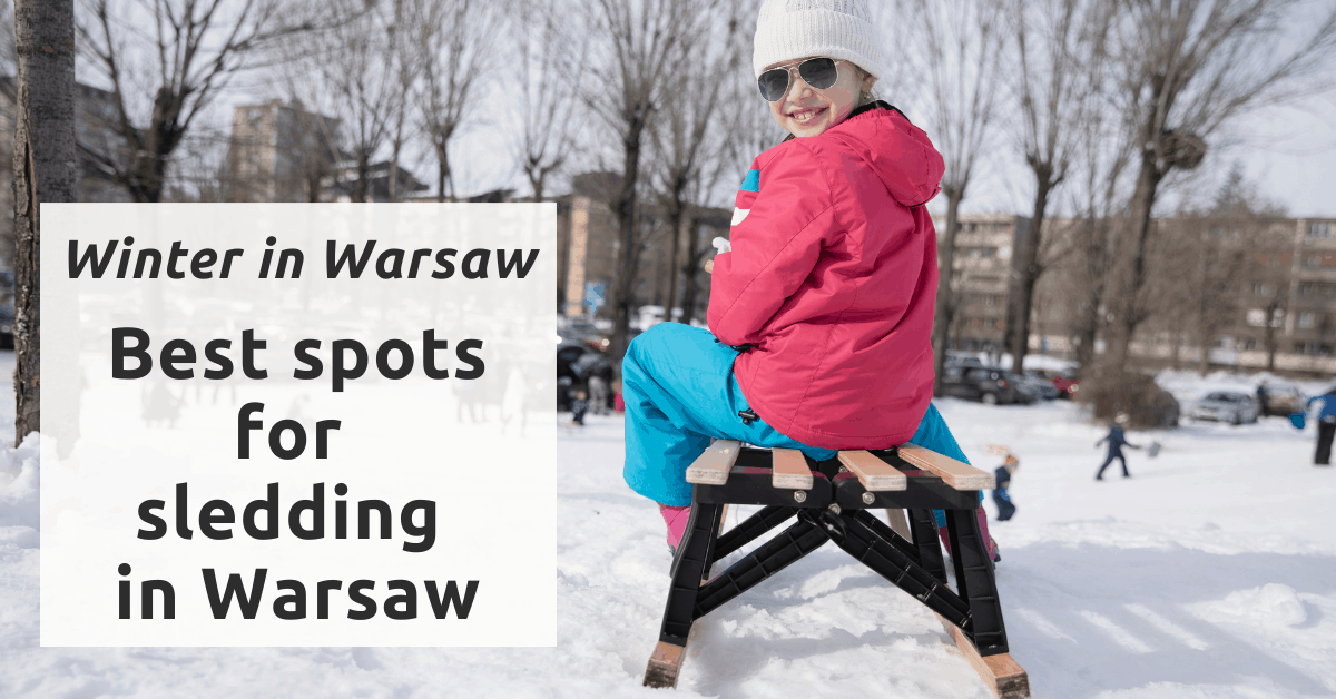 best spots for sledding in Warsaw