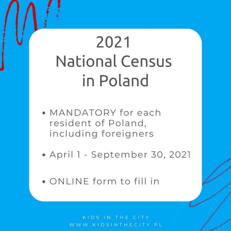 2021 National Census in Poland – mandatory for each resident of Poland, including foreigners