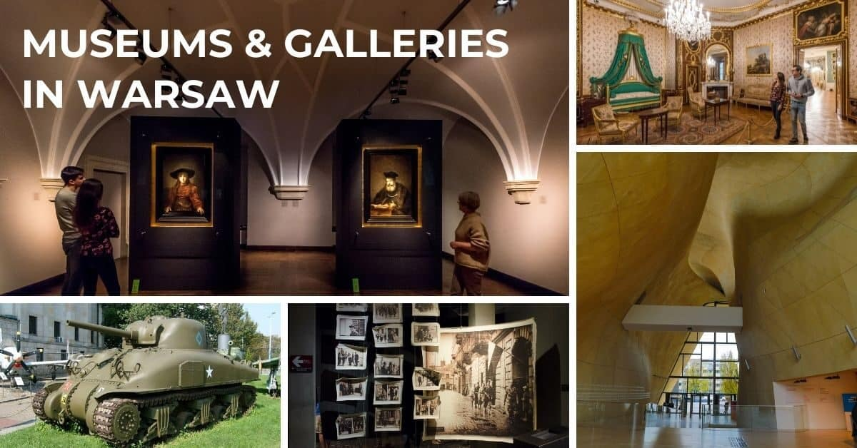 Museums and galleries in Warsaw Poland