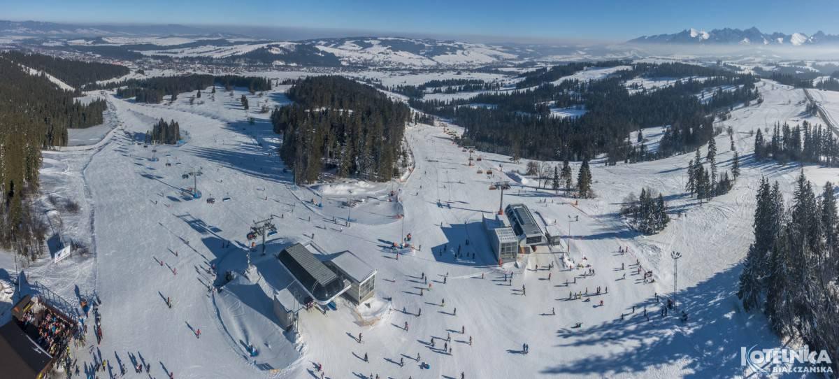 skiing in poland bialka