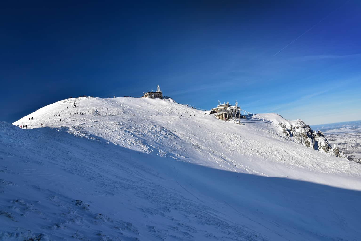 skiing in Poland Zakopane Kasprowy