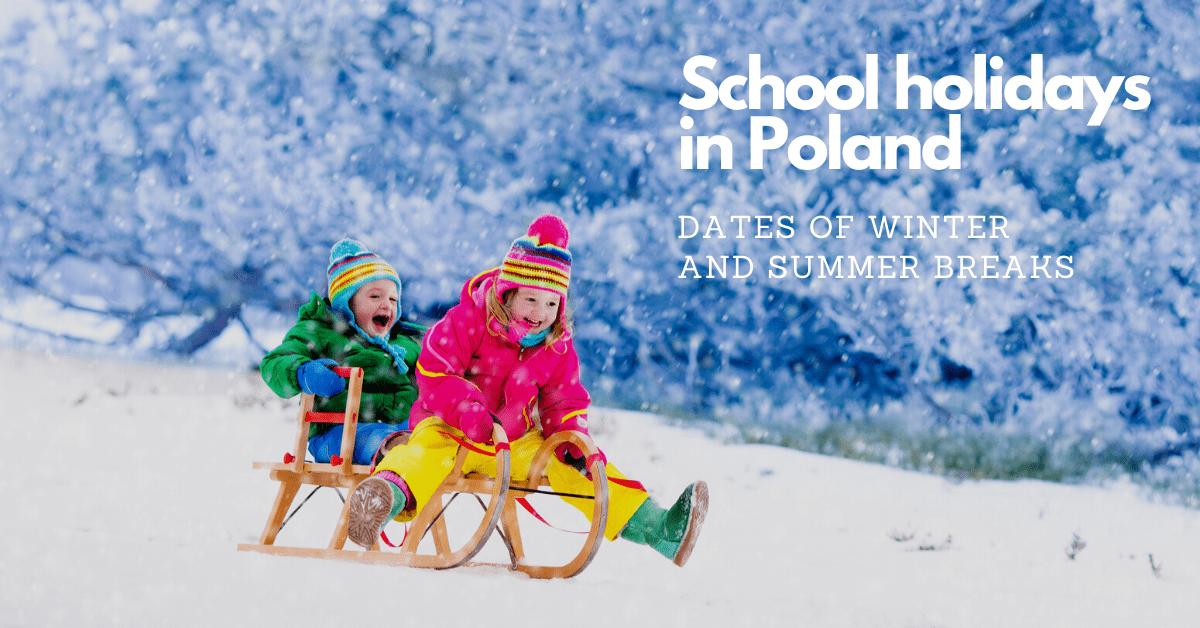 School holidays in Poland